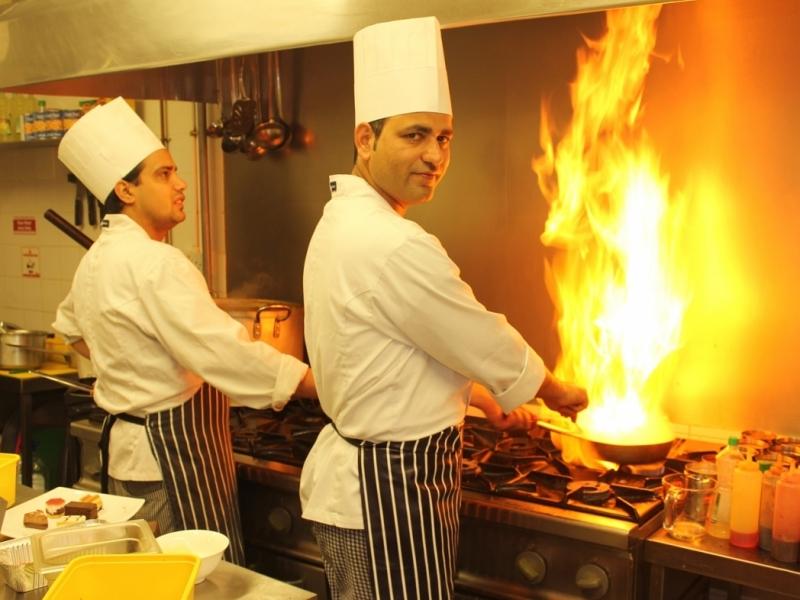 Indian Restaurant Chef
